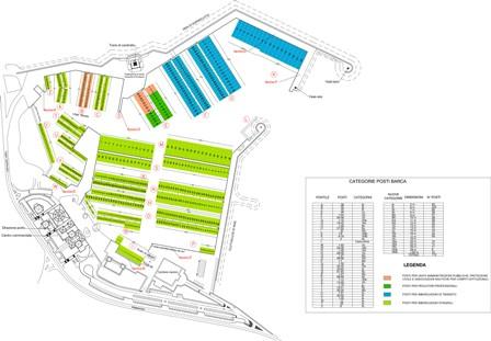 Planimetria della Marina di Villasimius