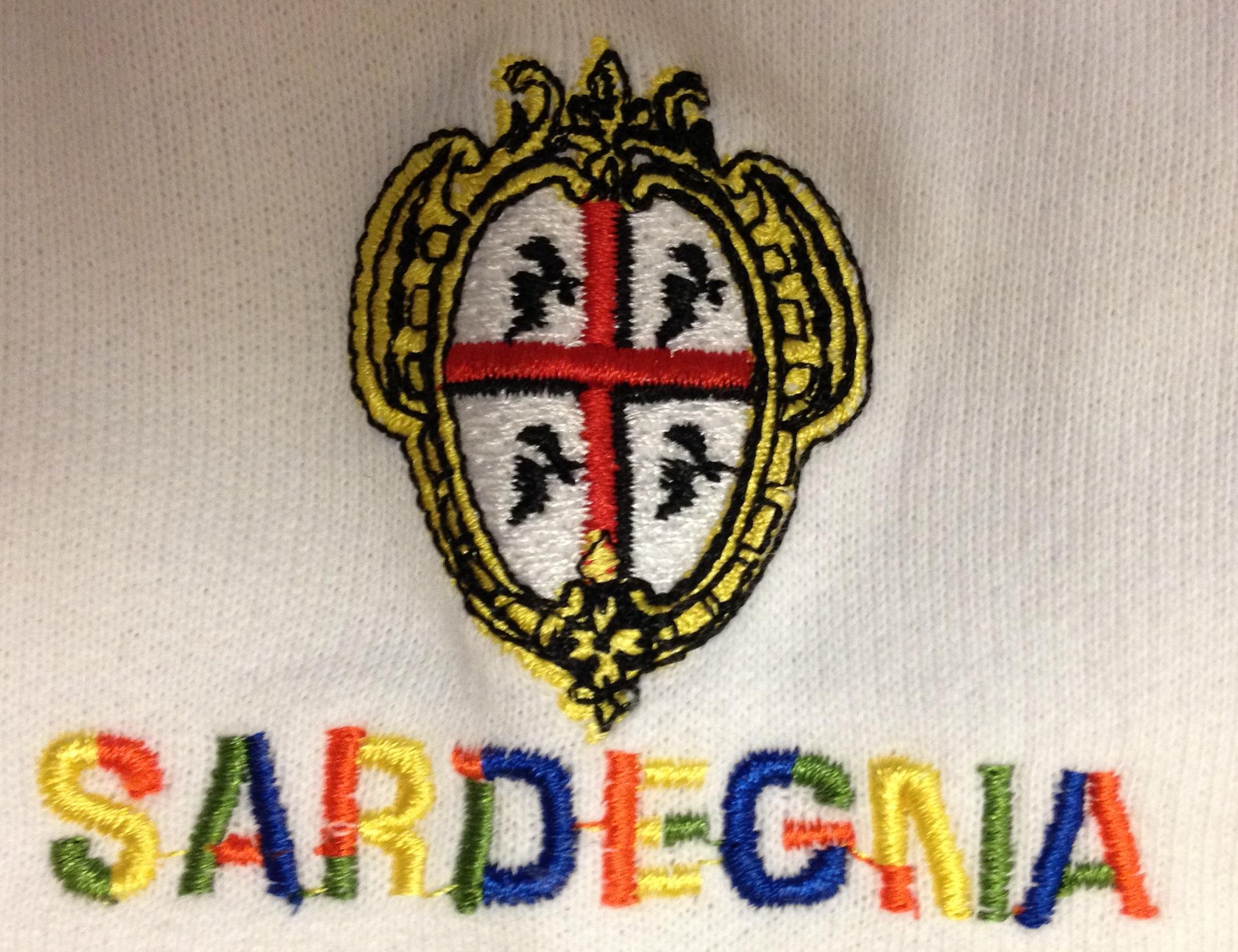 Ricamo Sardegna e Quattro Mori